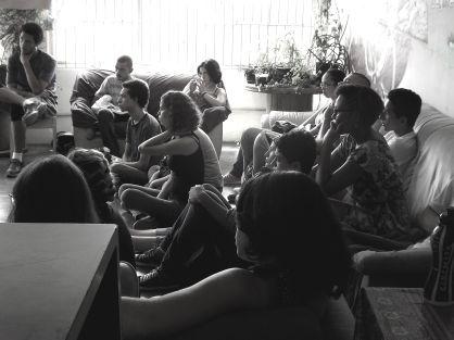 Alunos em palestra sobre Comissão da Verdade em dezembro de 2012